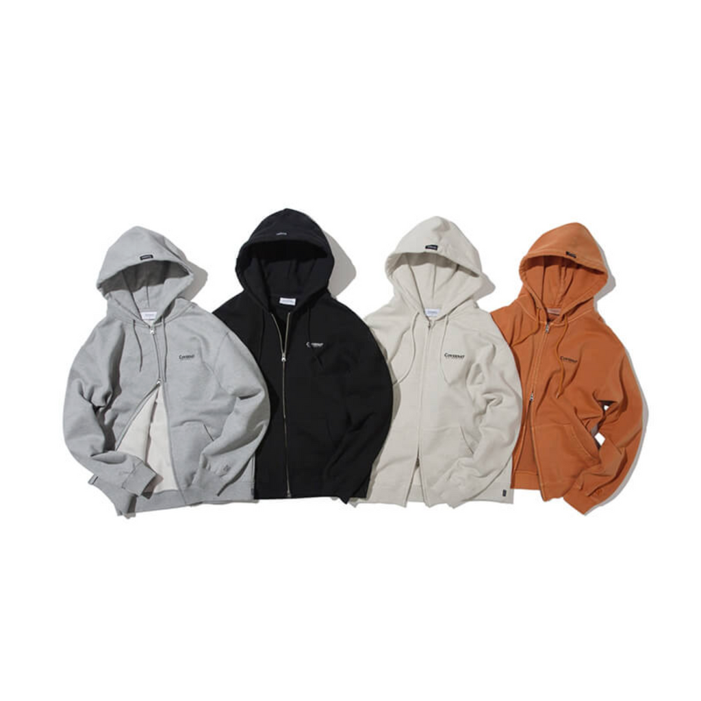 Covernat Small Authentic Logo Hoodie Zip-up Jackets  - HALLYU MART