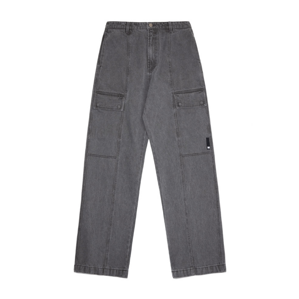 Kodak Apparel ISO800 Day Denim Cargo Pants  - HALLYU MART