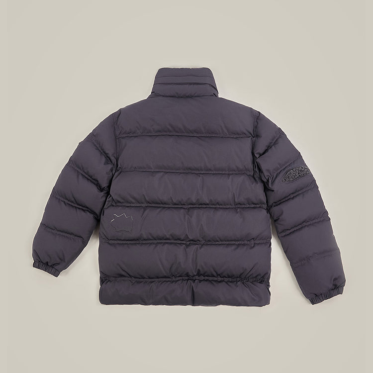 Adererror Mask Down Jacket Charcoal  - HALLYU MART
