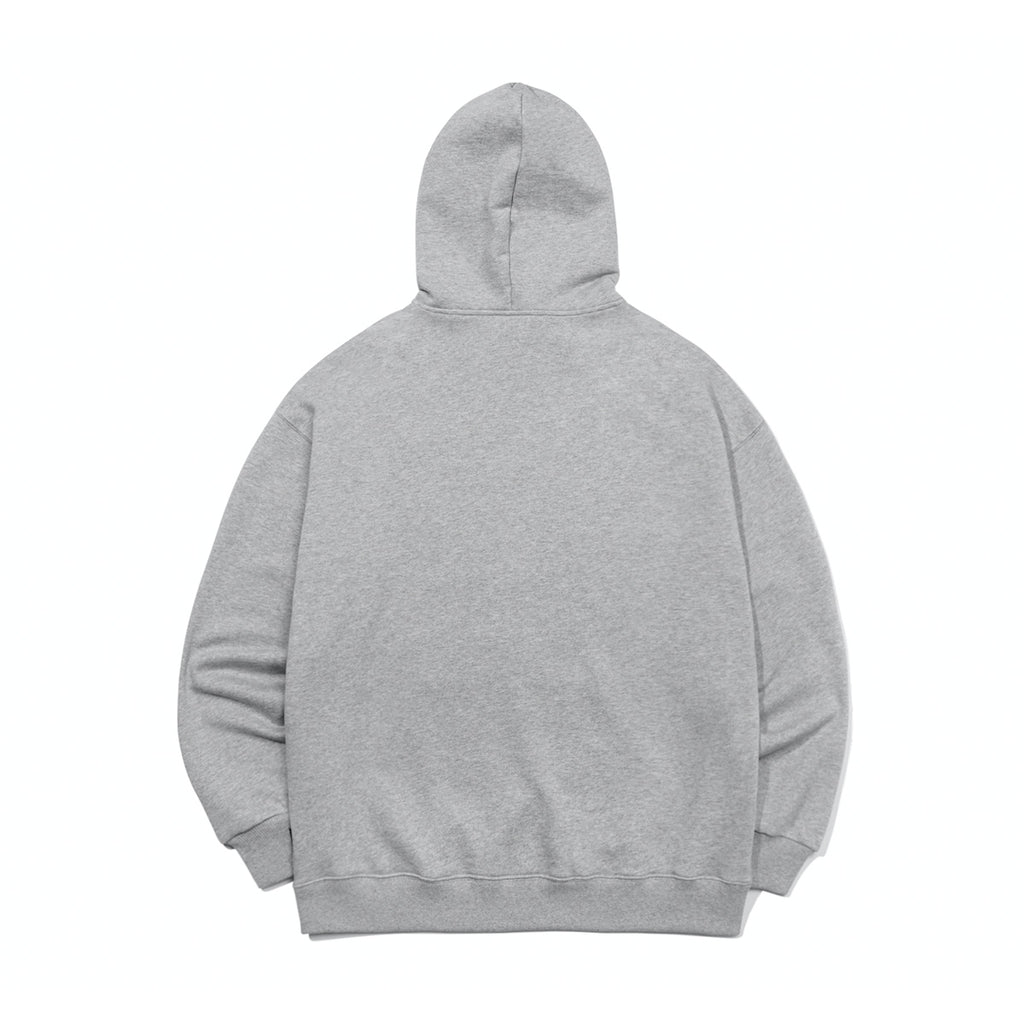 Mark Gonzales M/G Sign Logo Hoodie Grey  - HALLYU MART