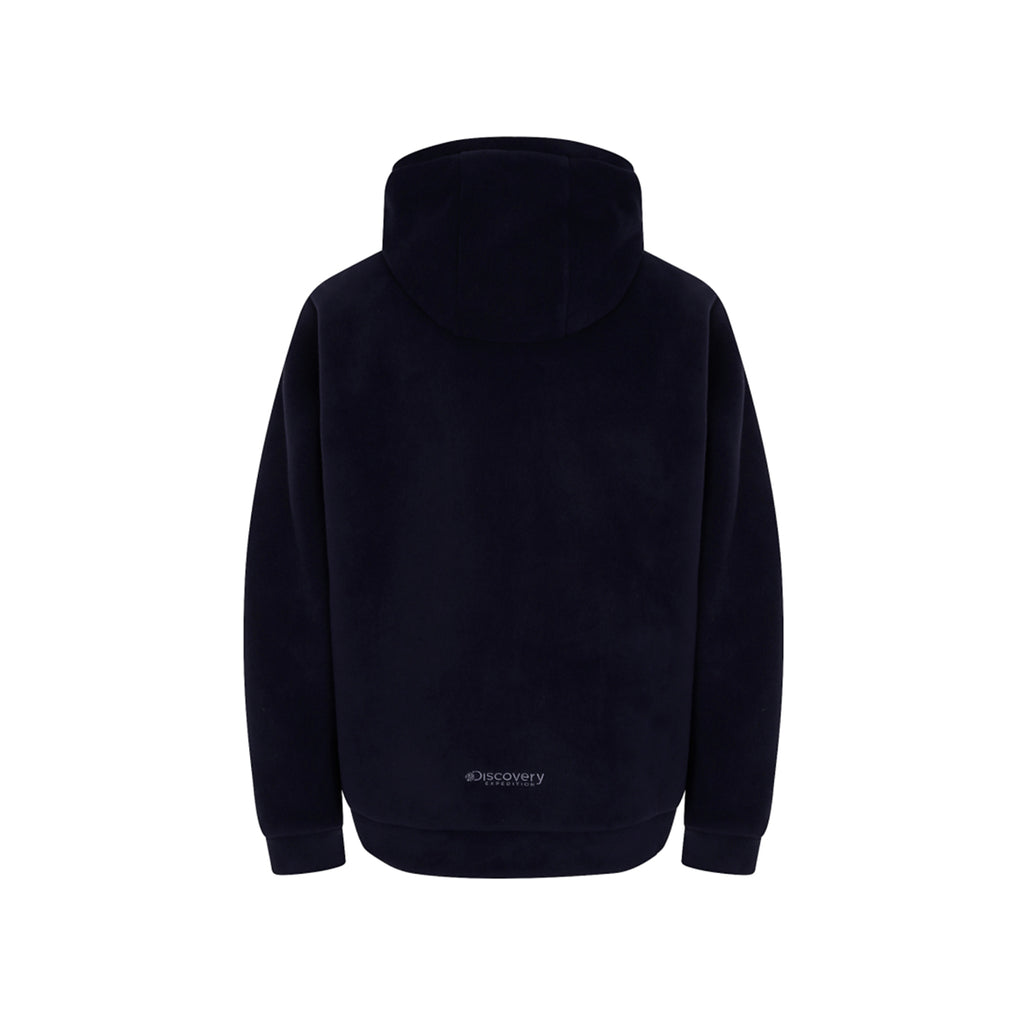 Discovery Expedition Boding Fleece Hoodie Jackets Dark Navy DMSS61961-DN  - HALLYU MART