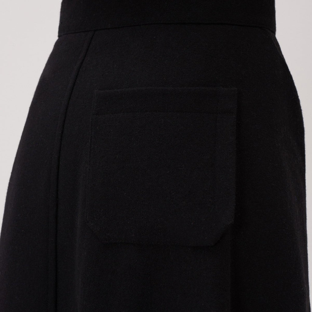 Adererror Women Fixing Skirt Black  - HALLYU MART