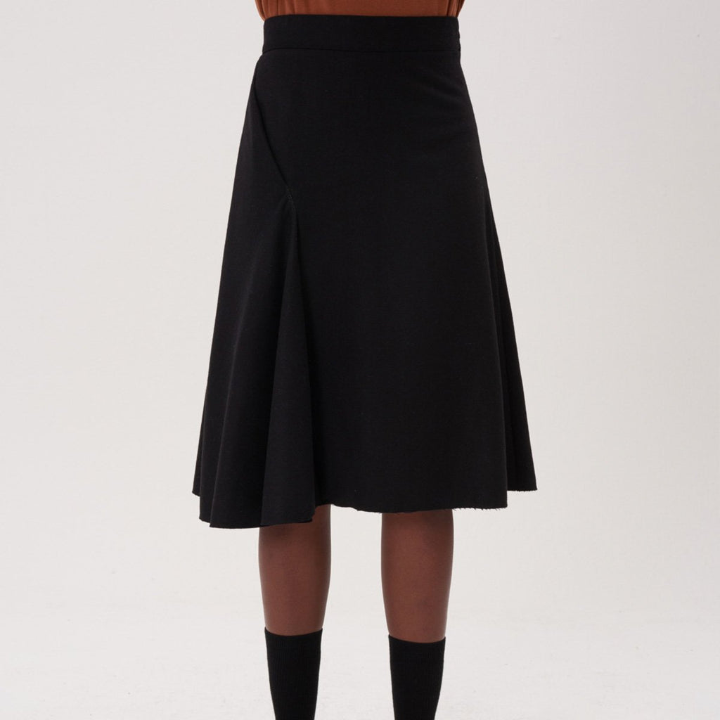 Adererror Women Fixing Skirt Black-KR-HALLYU MART