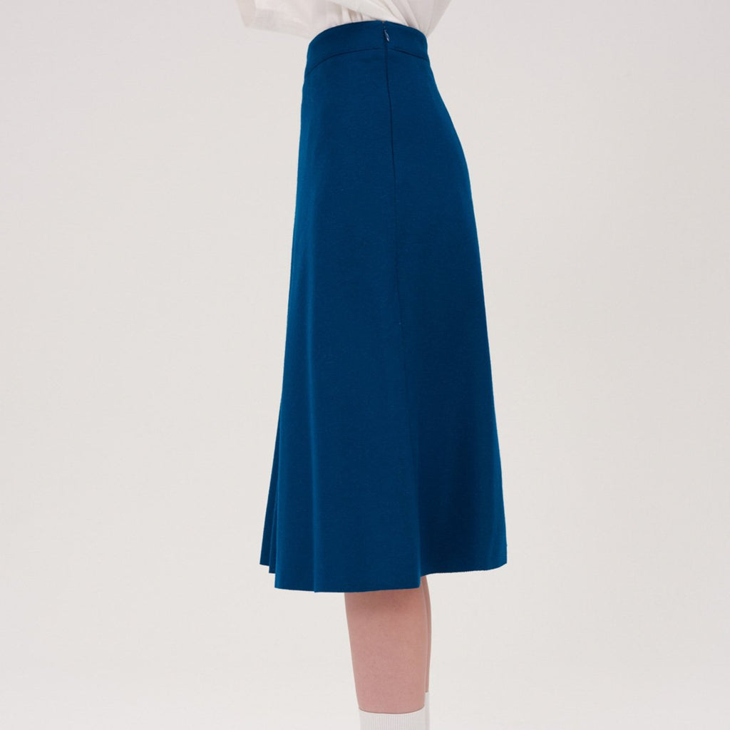 Adererror Women Fixing Skirt Peacock-KR-HALLYU MART