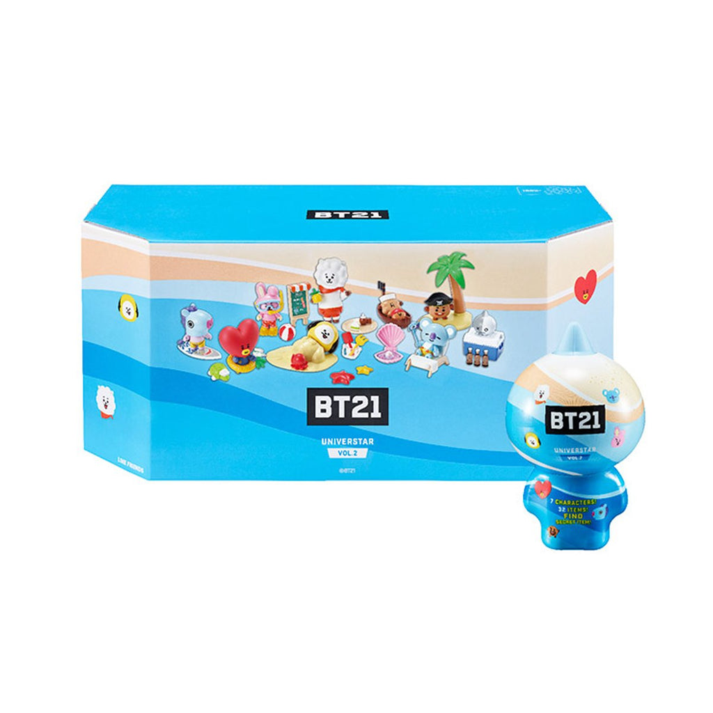 BT21 Blind Pack Vol.2 7 Set Figure egg-Line Friends & Young Toys-HALLYU MART