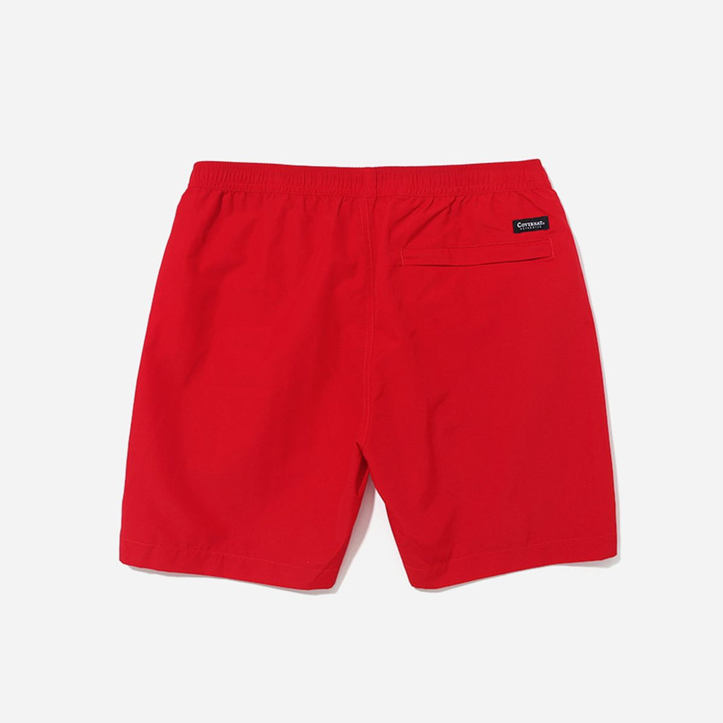 Covernat Packable Shore Shorts Pants Orange Red-Covernat-HALLYU MART