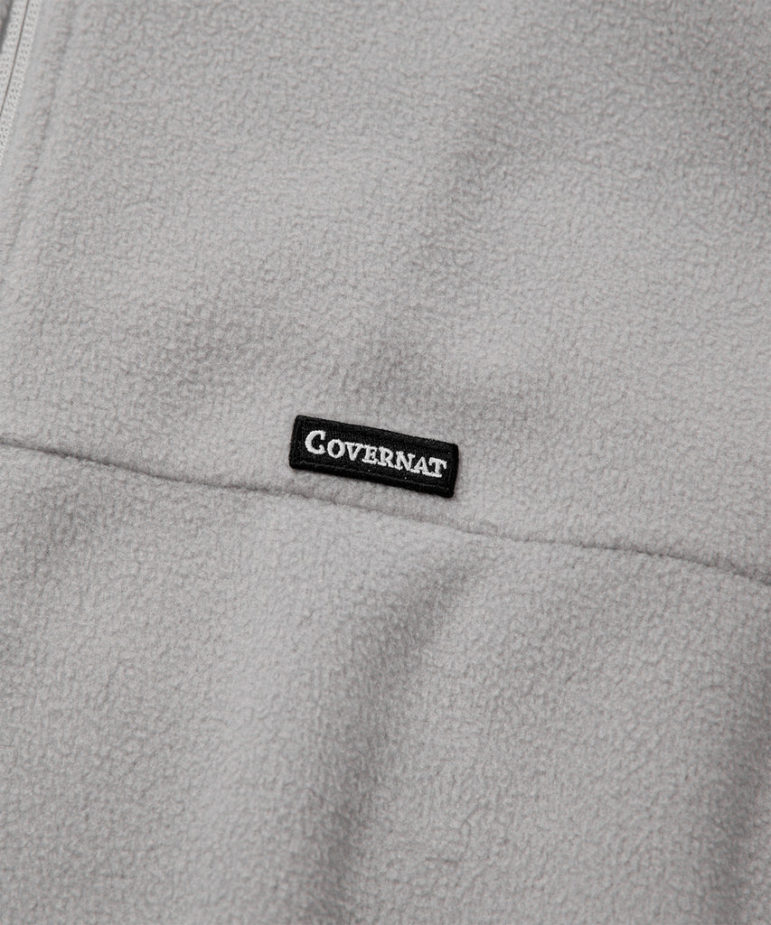 Covernat Fleece Jackets Grey Pink  - HALLYU MART