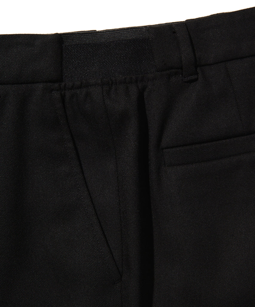Covernat Slim Easy Pants Black  - HALLYU MART