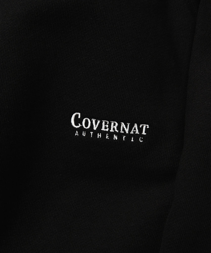 Covernat Authentic Sweat Pants Black  - HALLYU MART