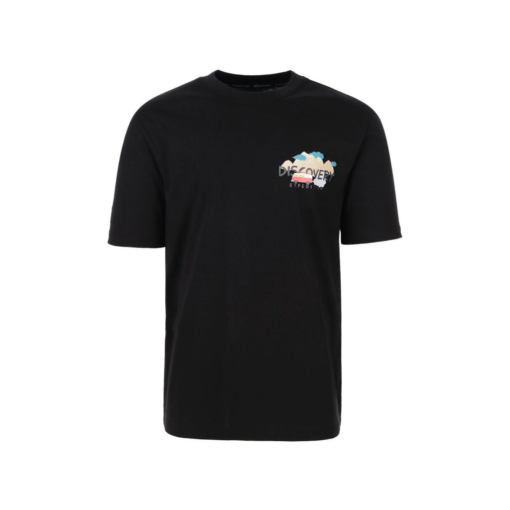 Discovery Expedition Back Graphics Tee Black DXRT93931-BK  - HALLYU MART
