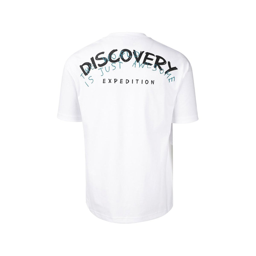 Discovery Expedition Pocket Tee Off White DXRT95931-OW  - HALLYU MART