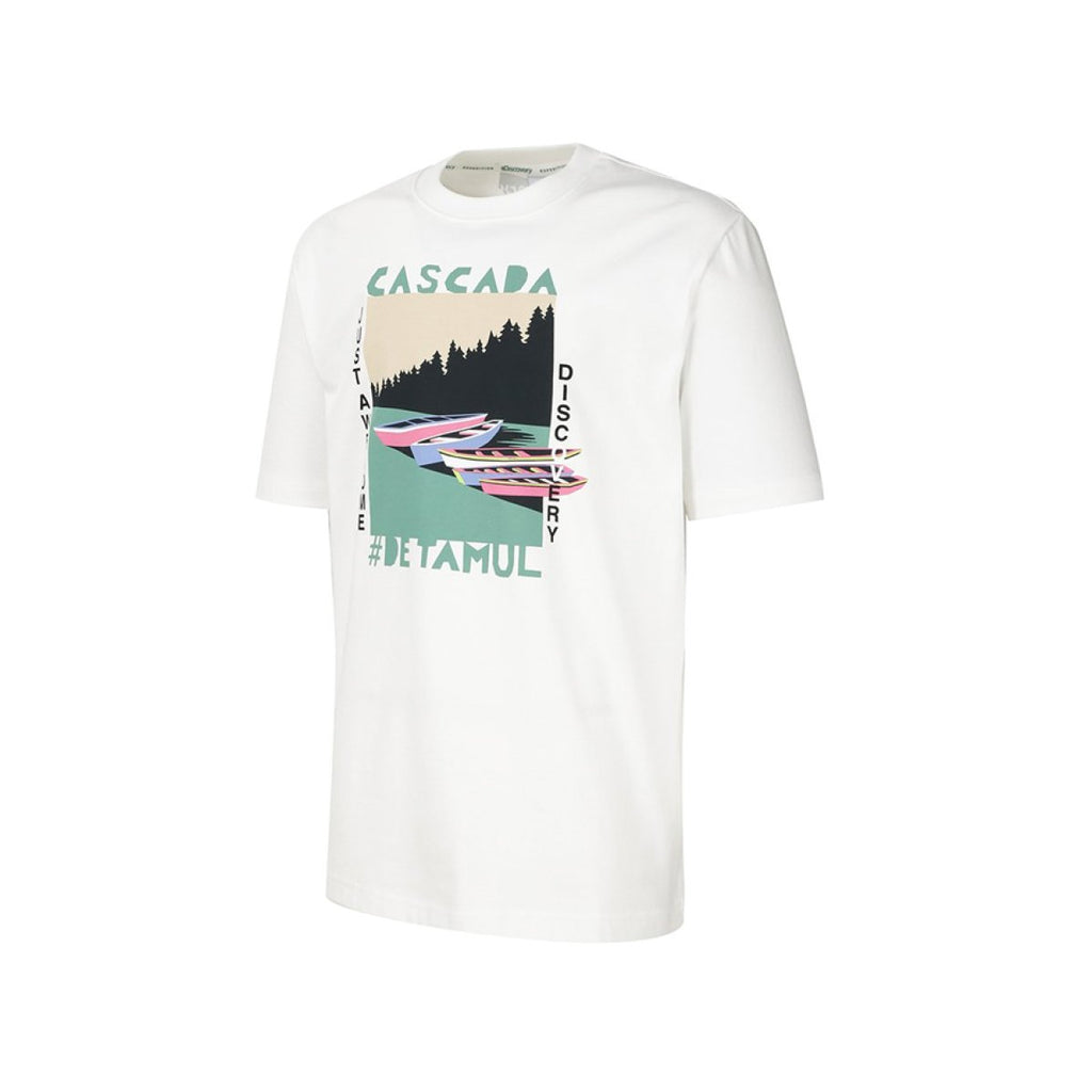 Discovery Expedition Tee Off White DXRT91931-OW  - HALLYU MART