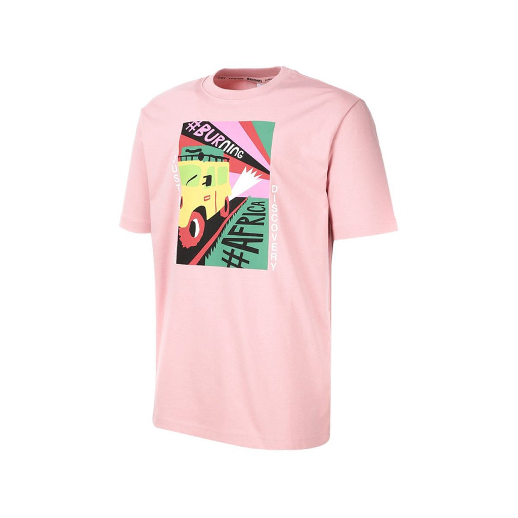 Discovery Expedition Tee Pink DXRT91931-LP  - HALLYU MART