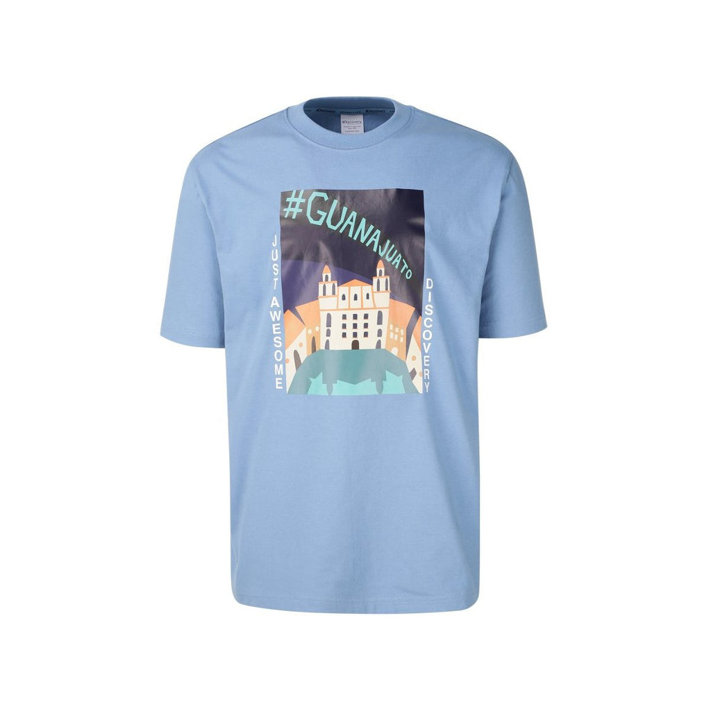 Discovery Expedition Tee Sky Blue DXRT91931-SB  - HALLYU MART