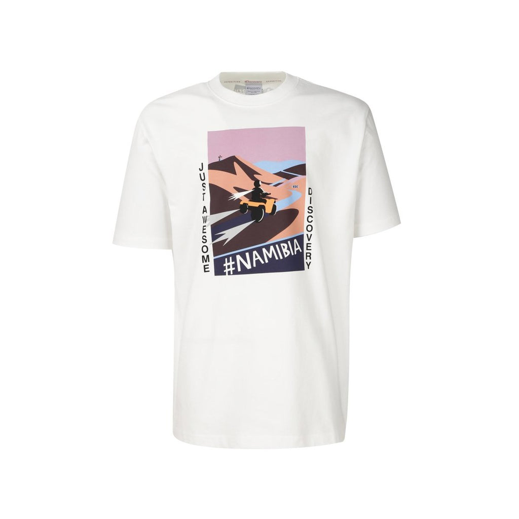 Discovery Expedition Tee White DXRT91931-WH  - HALLYU MART