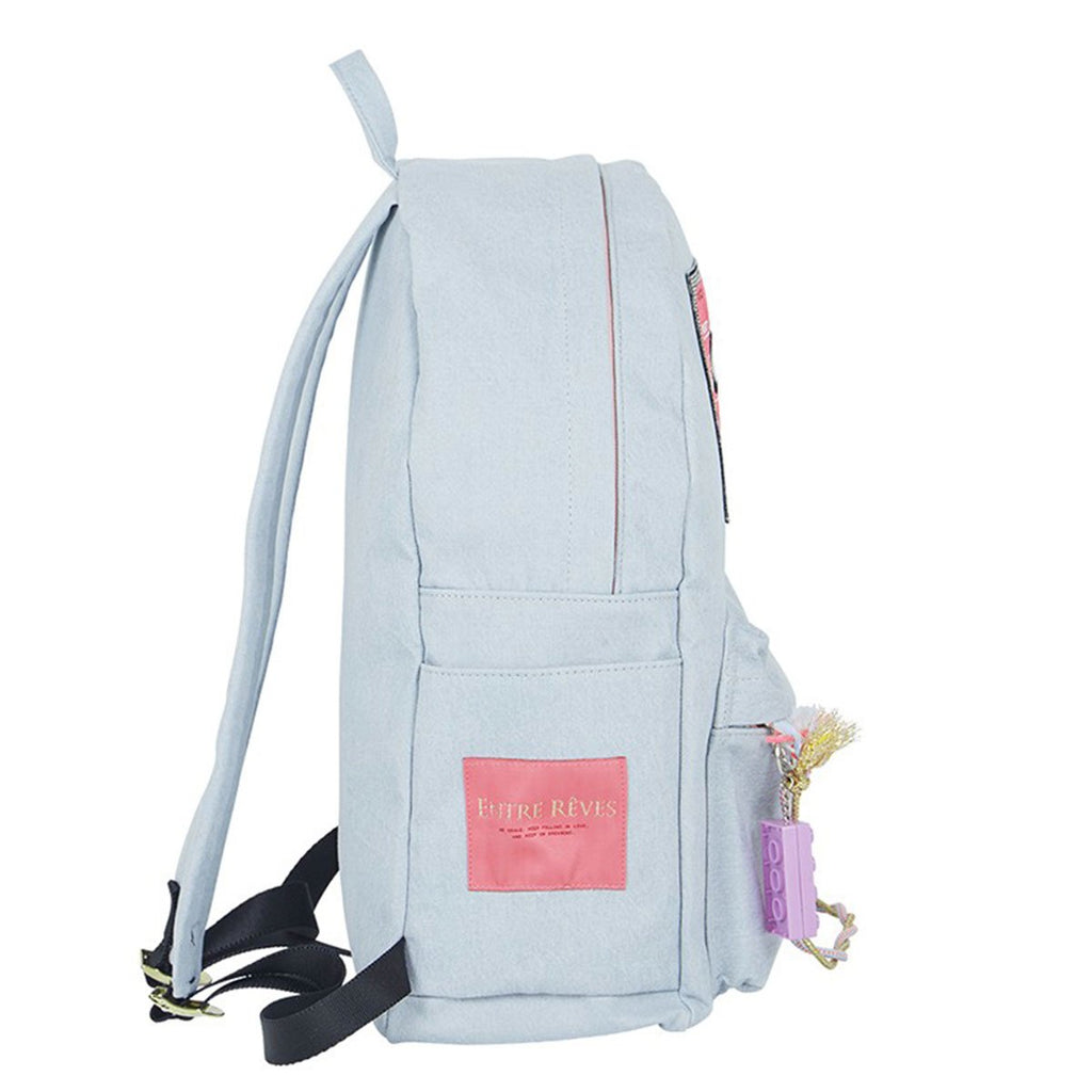 Entre Reves Blue Mixtape Backpack-kr-HALLYU MART