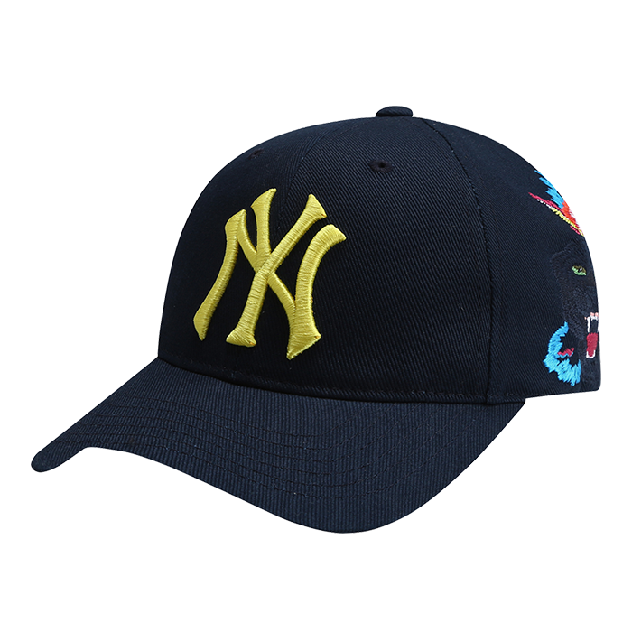 EXO MLB New York Yankees Black Panther Ball Hats 32CPAP841-50N-kr-HALLYU MART