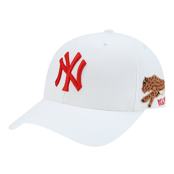 EXO MLB New York Yankees Black Panther Spark Curve Adjustable Hats 32CPAU841-50W-kr-HALLYU MART