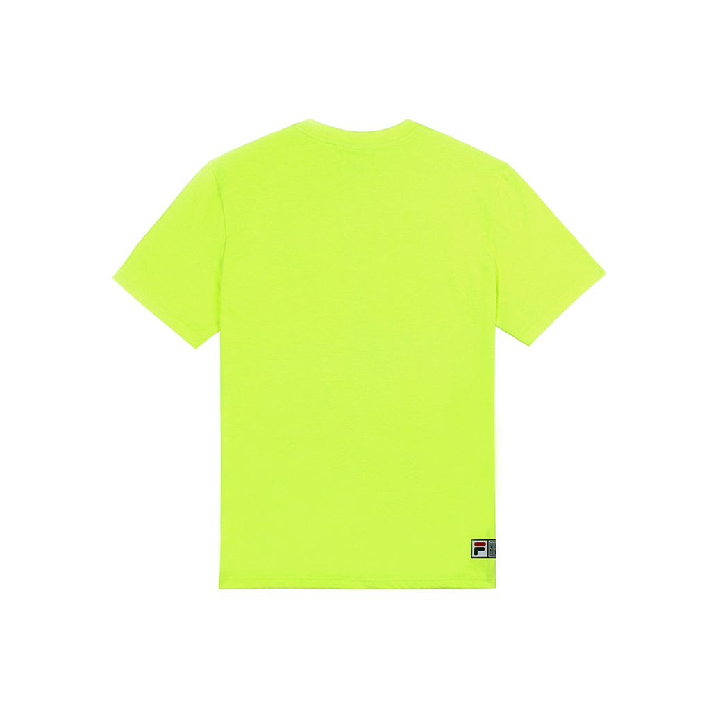 Fila x Stereo Vinyls Color of Sound S/S T-shirts Green-Fila x Stereo-HALLYU MART