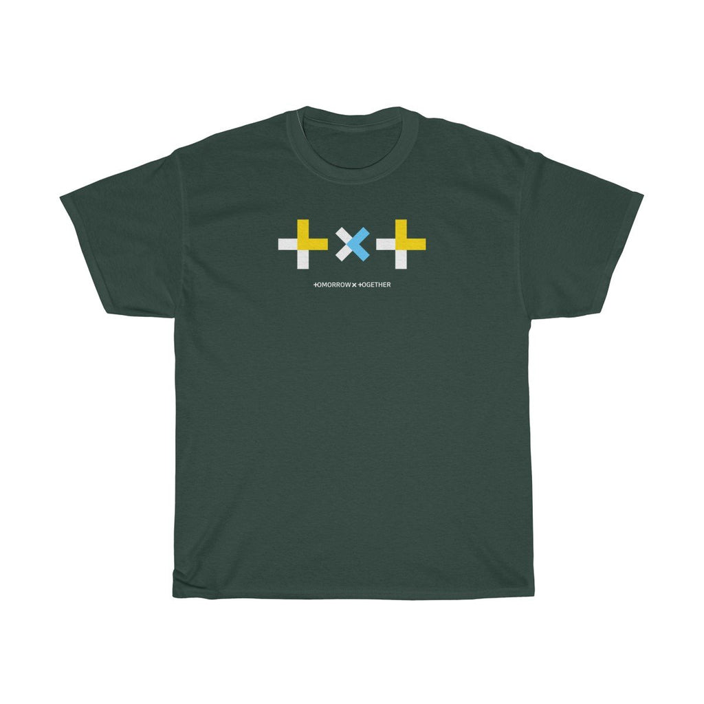HLMT TXT (Tomorrow x Together) Unisex Heavy Cotton Big Logo T-Shirt-HLMT-HALLYU MART