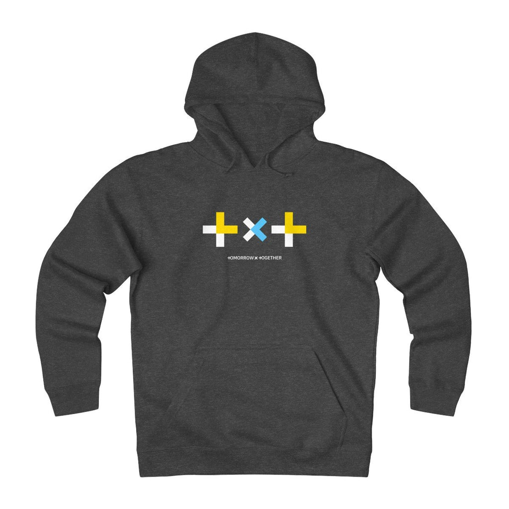 HLMT TXT (Tomorrow x Together) Unisex Heavyweight Fleece Big Logo Hoodie-HLMT-HALLYU MART