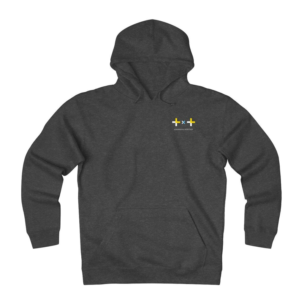 HLMT TXT (Tomorrow x Together) Unisex Heavyweight Fleece Small Logo Hoodie-HLMT-HALLYU MART