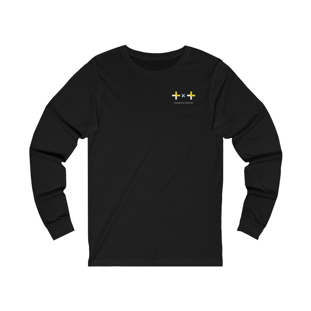 HLMT TXT (Tomorrow x Together) Unisex Jersey Long Sleeve Small Logo T-Shirt-HLMT-HALLYU MART