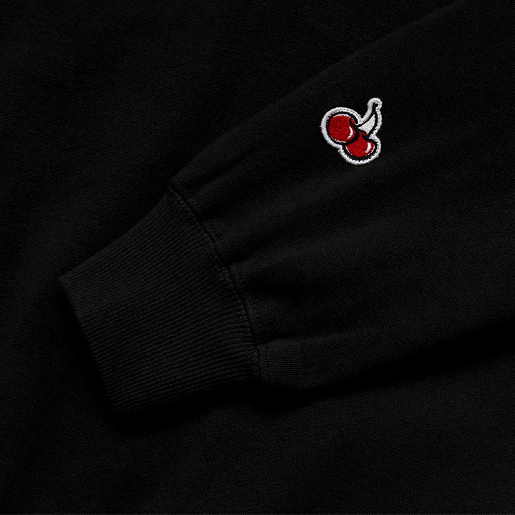 Kirsh 19S/S Heart Cherry Swea T-shirts Black  - HALLYU MART
