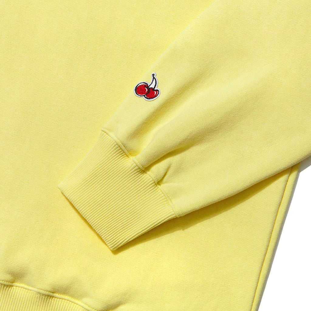 Kirsh 19S/S Heart Cherry Swea T-shirts Yellow  - HALLYU MART