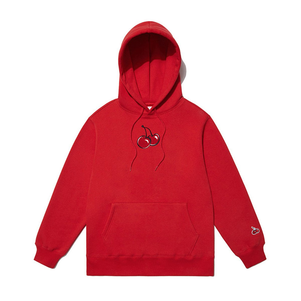 Kirsh 19S/S Middle Cherry Hoodies Red  - HALLYU MART