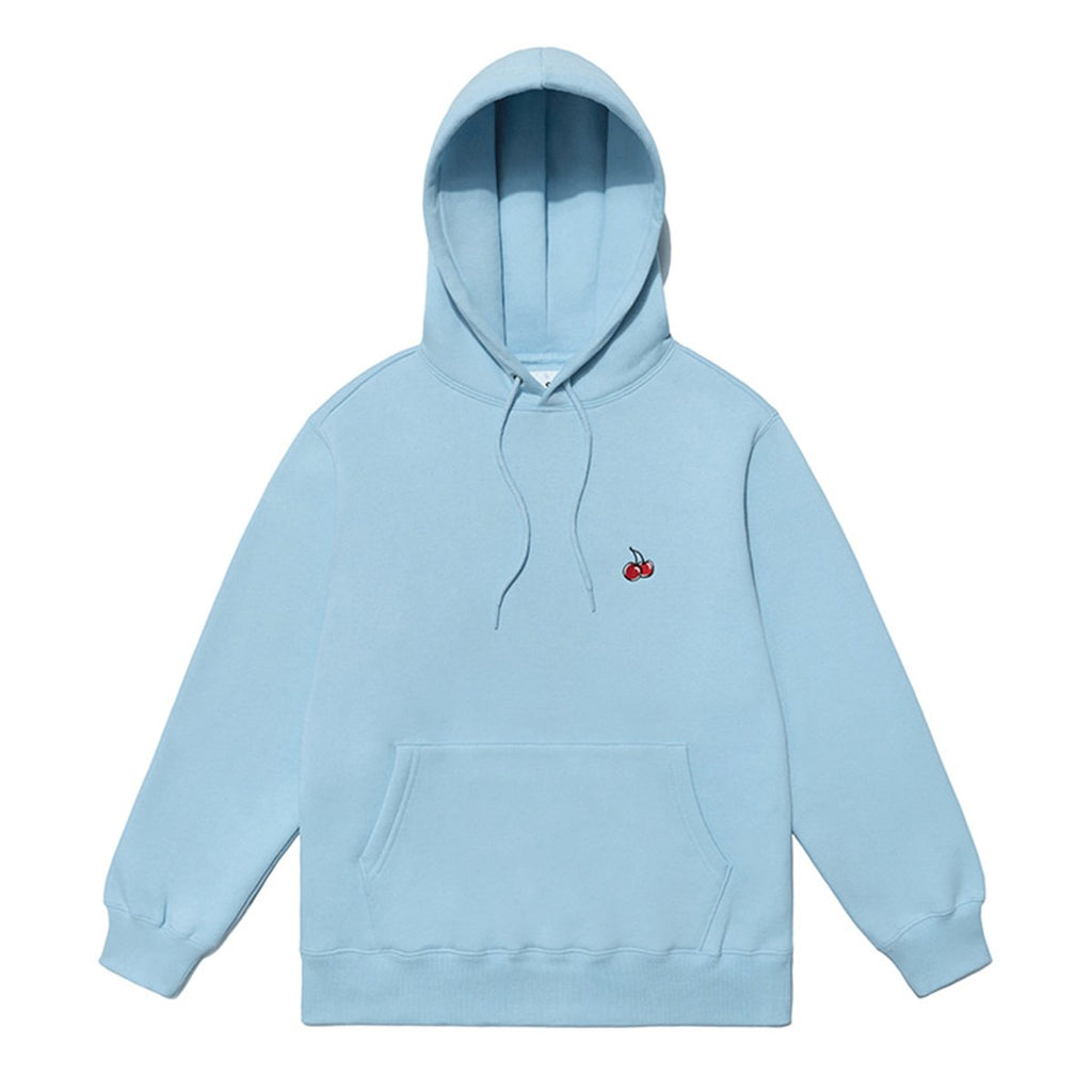 Kirsh 19S/S Small Cherry Hoodies Blue  - HALLYU MART