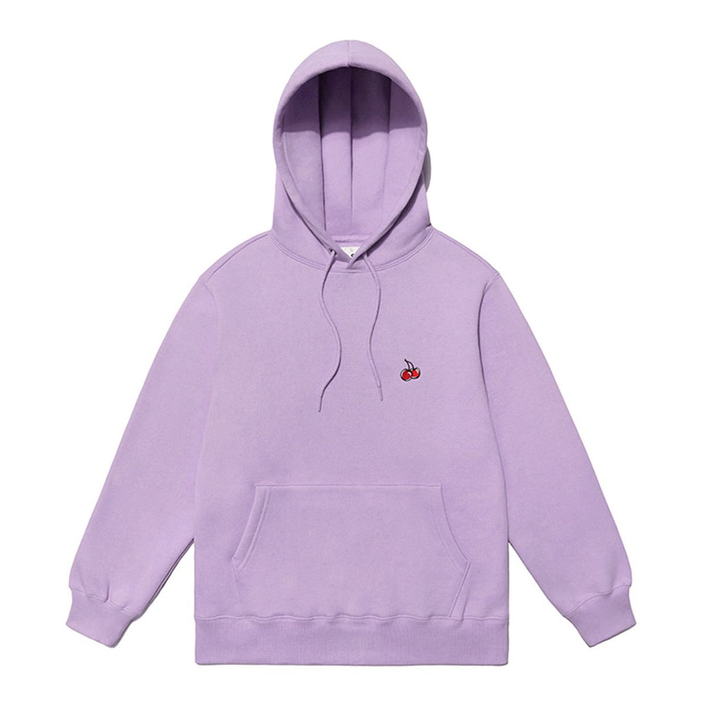 Kirsh 19S/S Small Cherry Hoodies Purple  - HALLYU MART