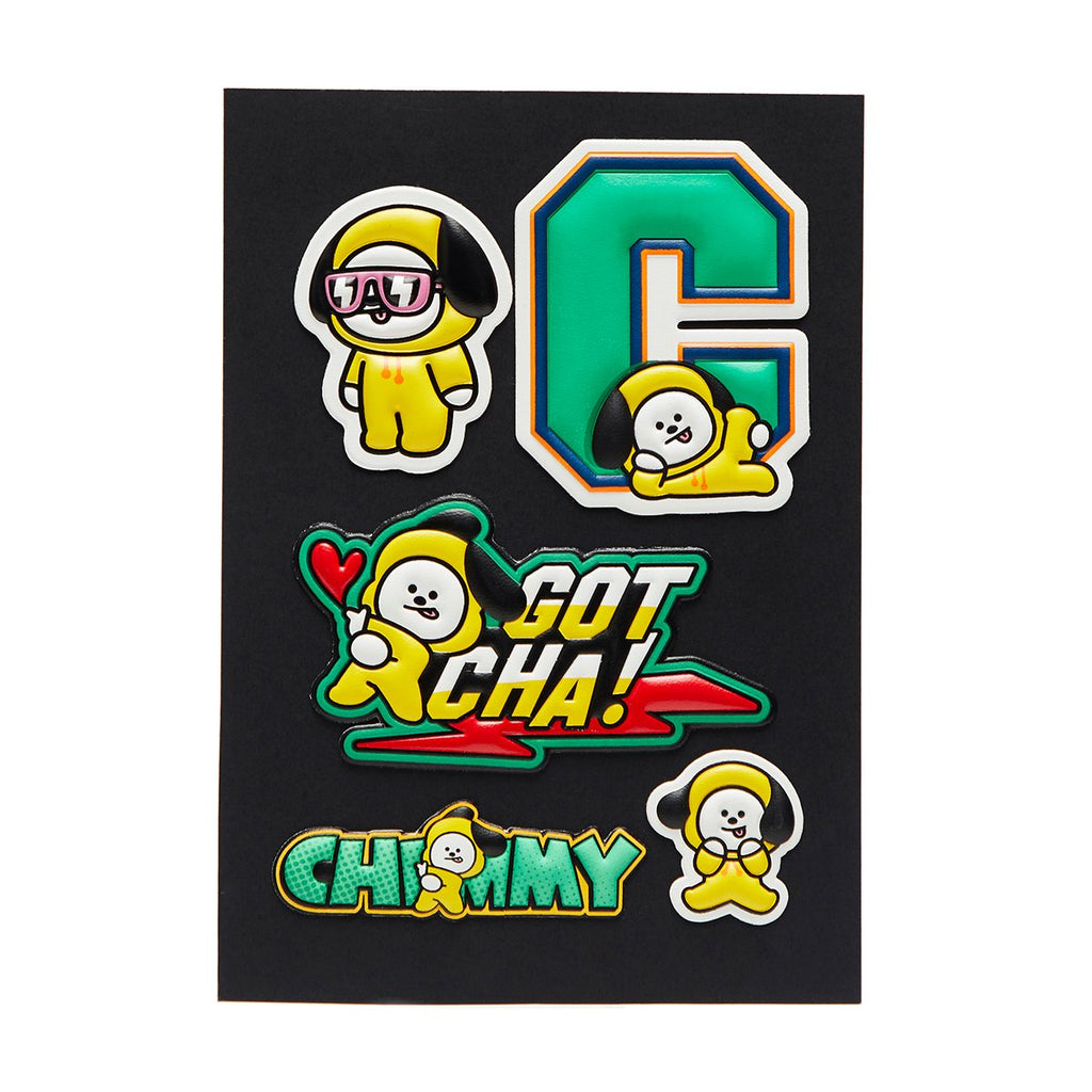 Line Friends BT21 Customizing Sticker-CN-HALLYU MART