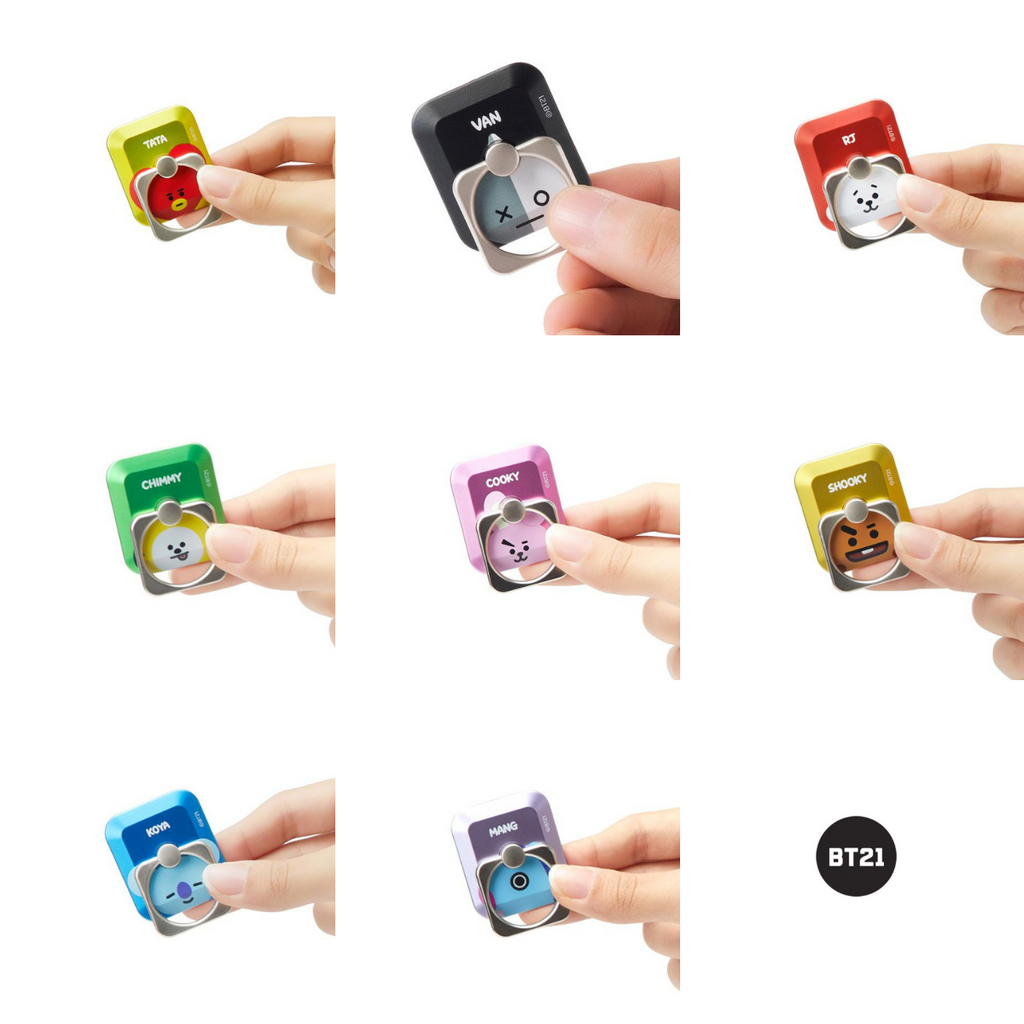 Line Friends BT21 Finge Ring-CN-HALLYU MART