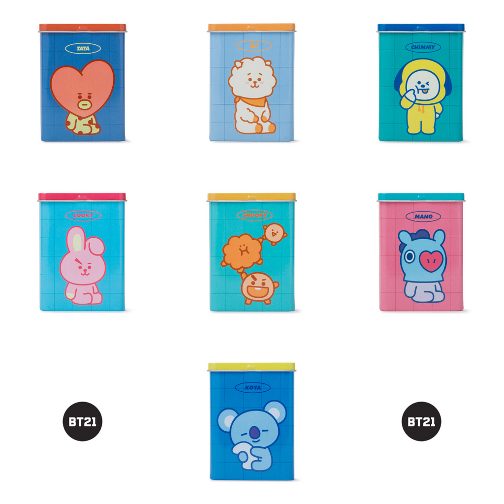 Line Friends BT21 Pattern Band (40 sheets)-Line friends-HALLYU MART