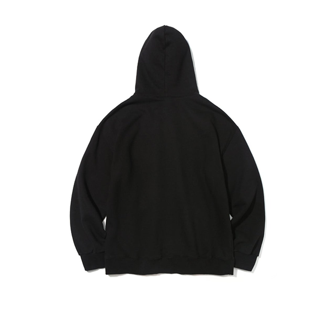Mark Gonzales Angel Logo Hoodies Black  - HALLYU MART