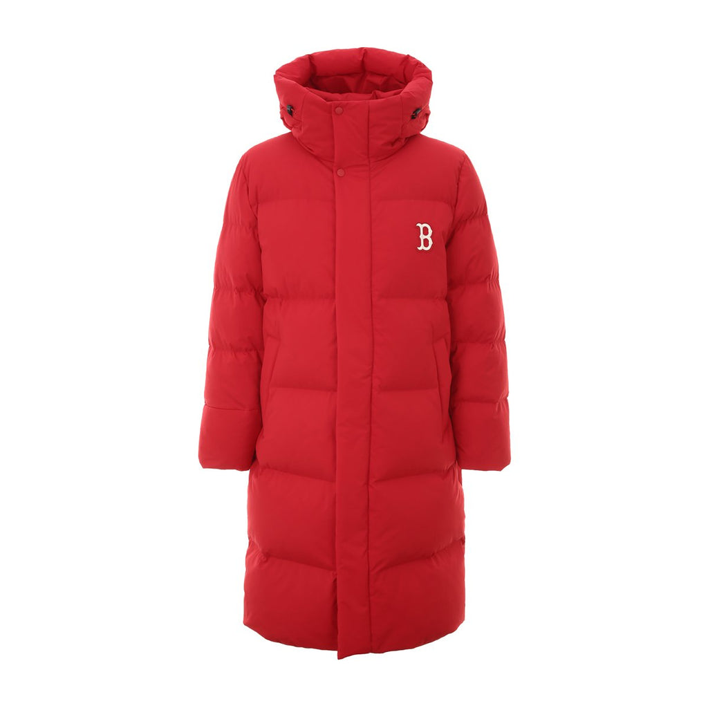 MLB 2019 Boston Redsox Mega Logo Long Down Jackets Red 31DJ02961-43R-MLB-HALLYU MART