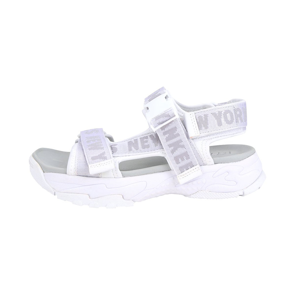 MLB New York Yankees Big Ball Sandal White 32SHD1911-50W-MLB-HALLYU MART