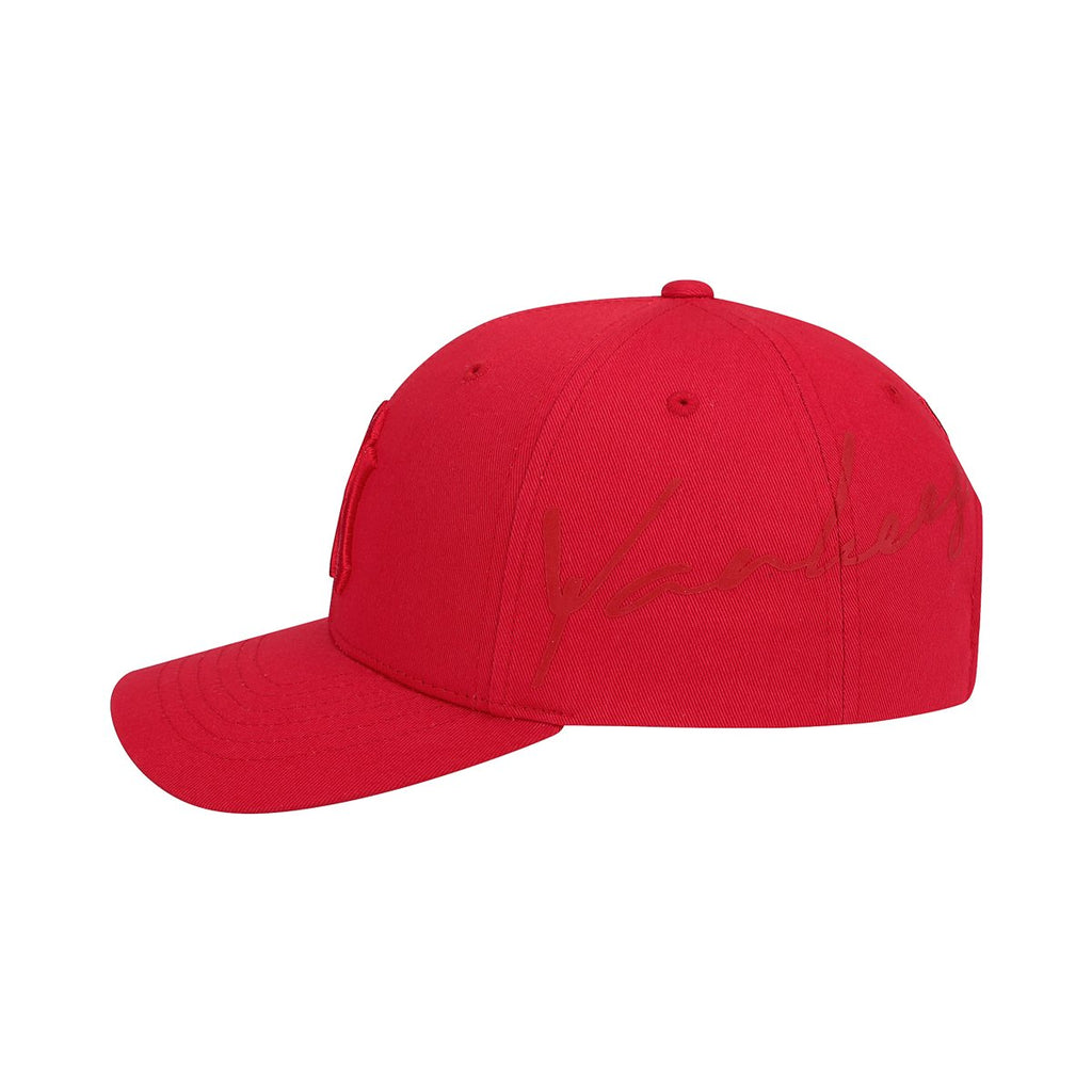 MLB New York Yankees Blank S-Curve Adjustable Hats Red 32CP30911-50R-MLB-HALLYU MART