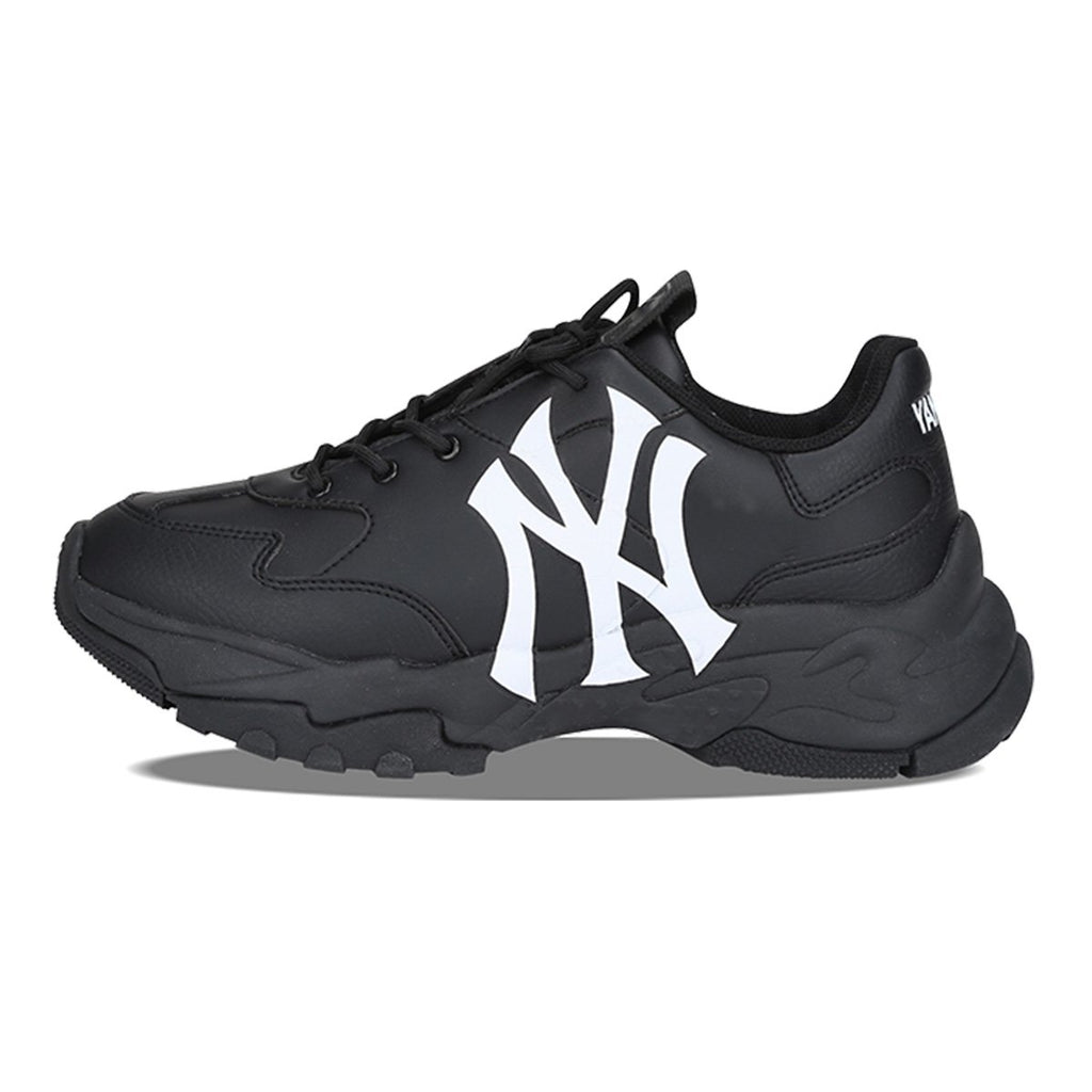 MLB Unisex New York Yankees Big Ball Chunky A Dad Shoes Black 32SHC1911-50L-MLB-HALLYU MART