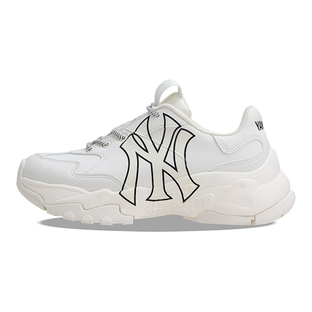 MLB Unisex New York Yankees Big Ball Chunky A Dad Shoes Ivory 32SHC1911-50I-MLB-HALLYU MART