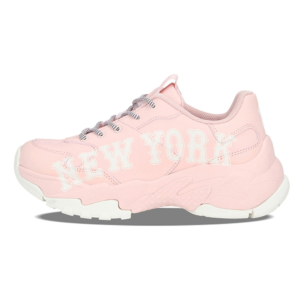 MLB Unisex New York Yankees Big Ball Chunky P Dad Shoes Beige 32SHC2911-50B-MLB-HALLYU MART