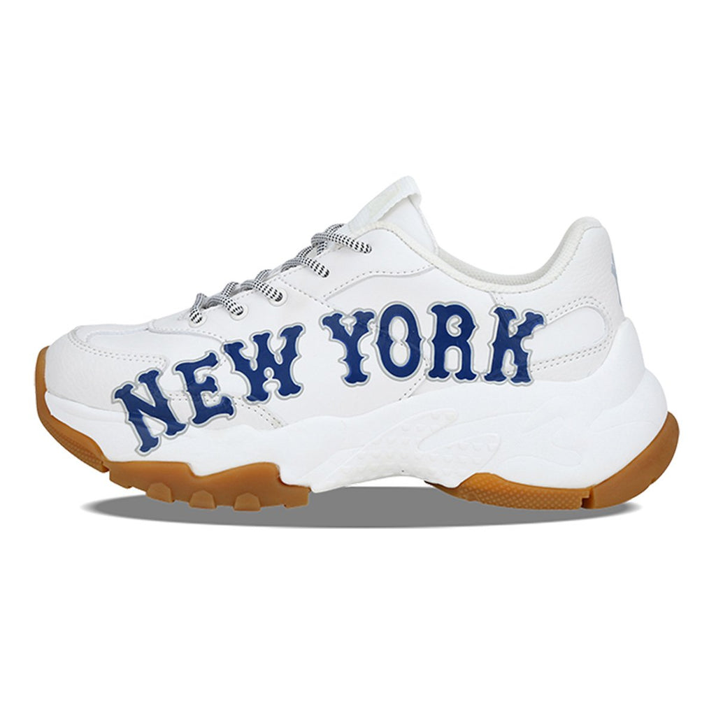 MLB Unisex New York Yankees Big Ball Chunky P Dad Shoes Navy 32SHC2911-50N-MLB-HALLYU MART
