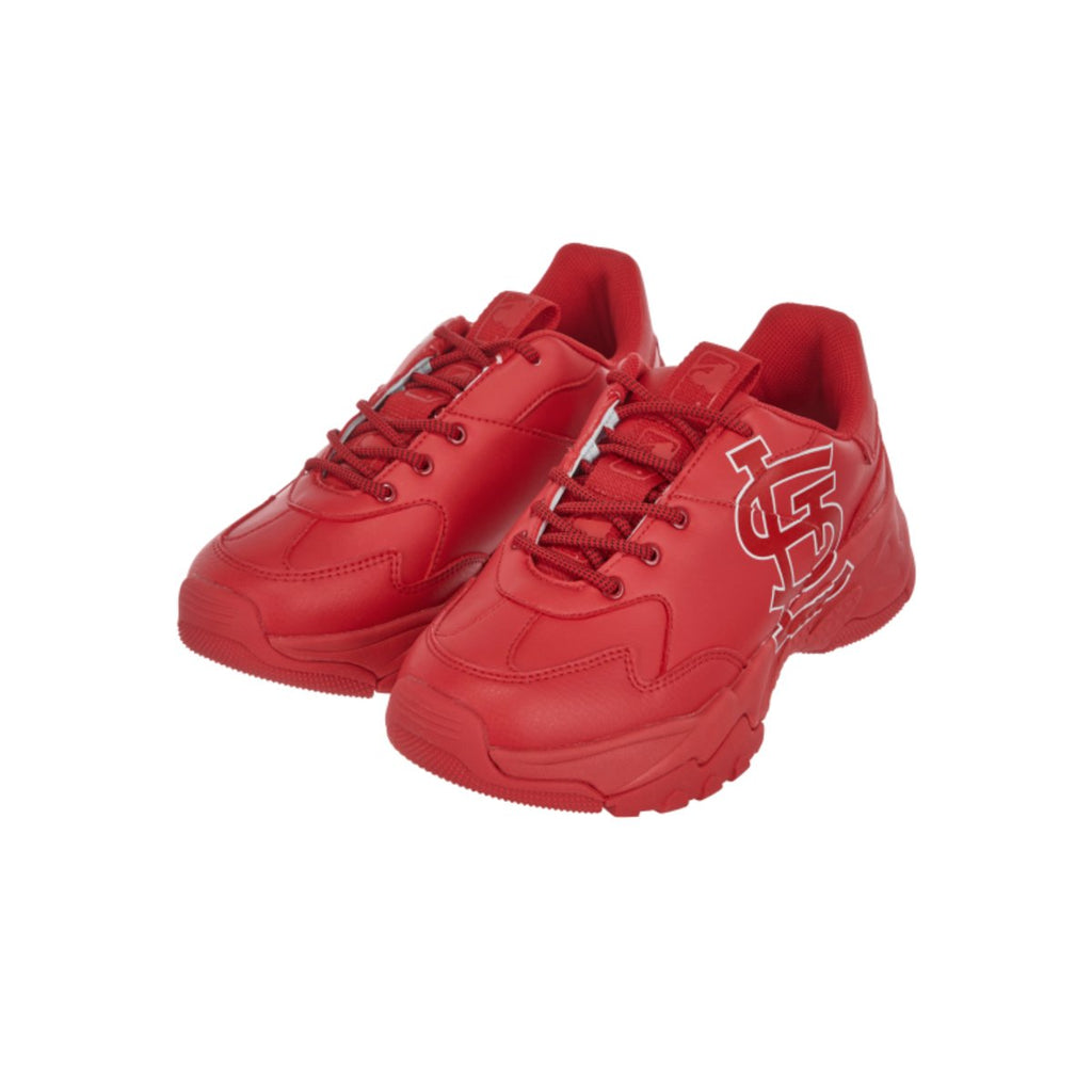 MLB Women St. Louis Cardinals Sneakers Big Ball Chunky A Shoes Red 32SHC1911-12R-MLB-HALLYU MART