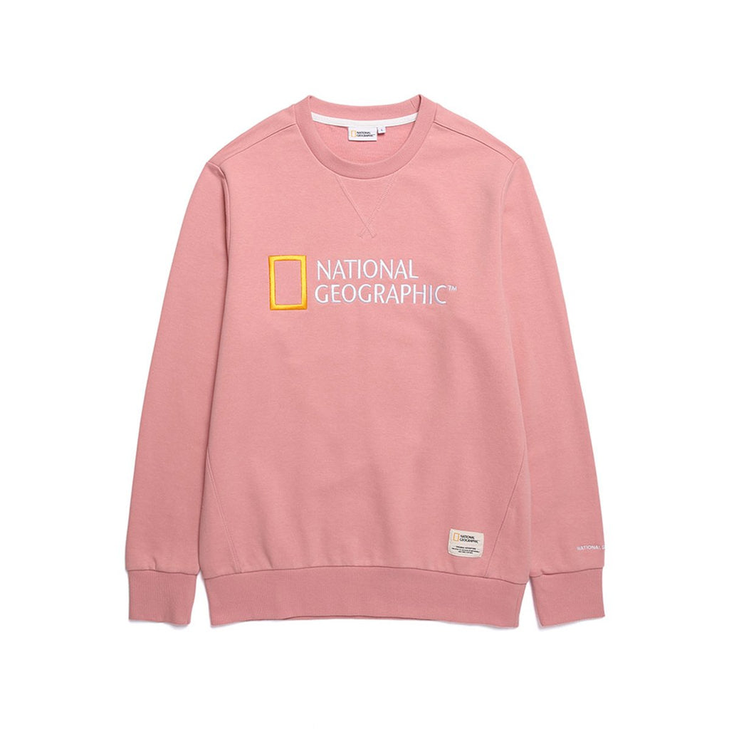 National Geographic Paul Haas Basic Big Logo T-shirts Pink N191USW030300-National Geographic-HALLYU MART
