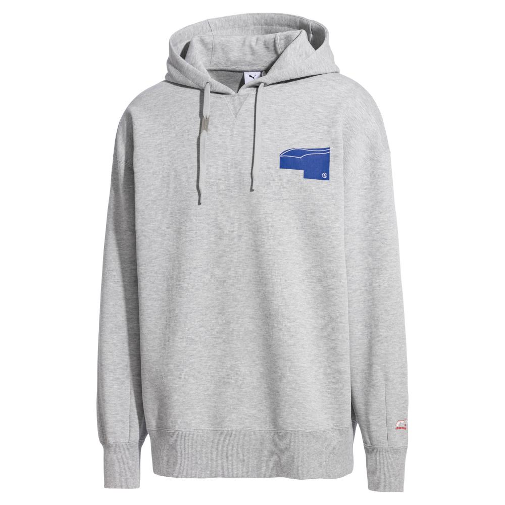 Puma x Adererror Hoodies Light Grey 57849004  - HALLYU MART