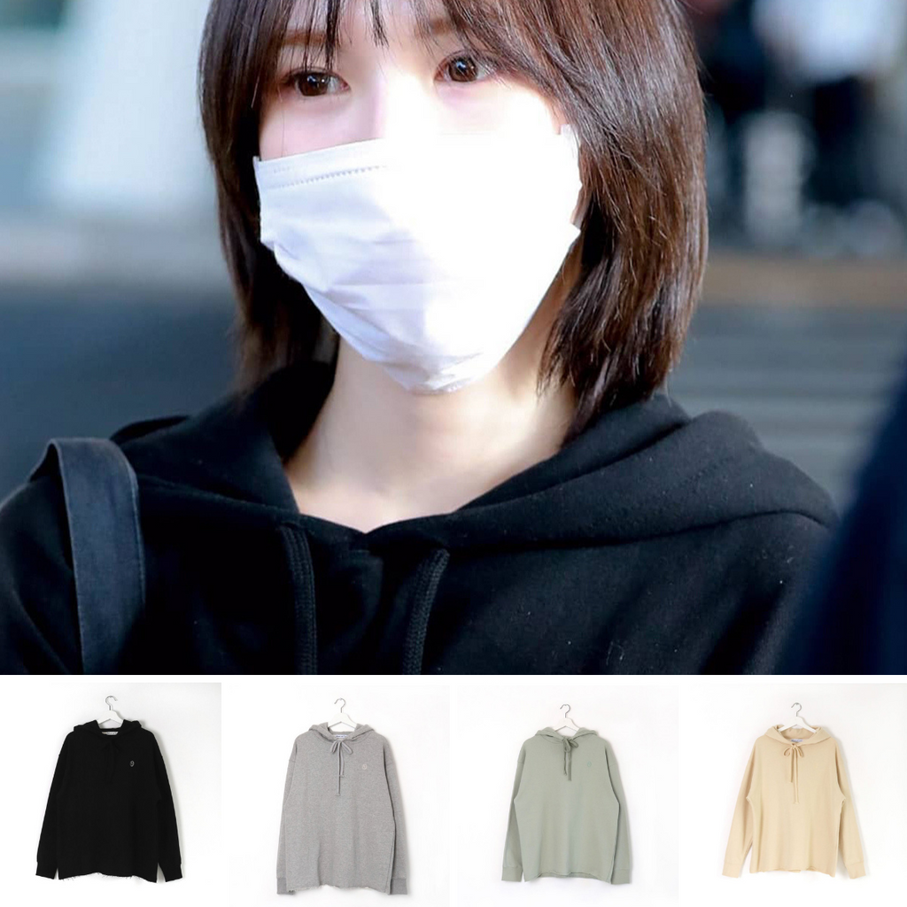 Red Velvet Wendy More or Less 19S/S Logo Hood Top Hoodies-More or Less-HALLYU MART