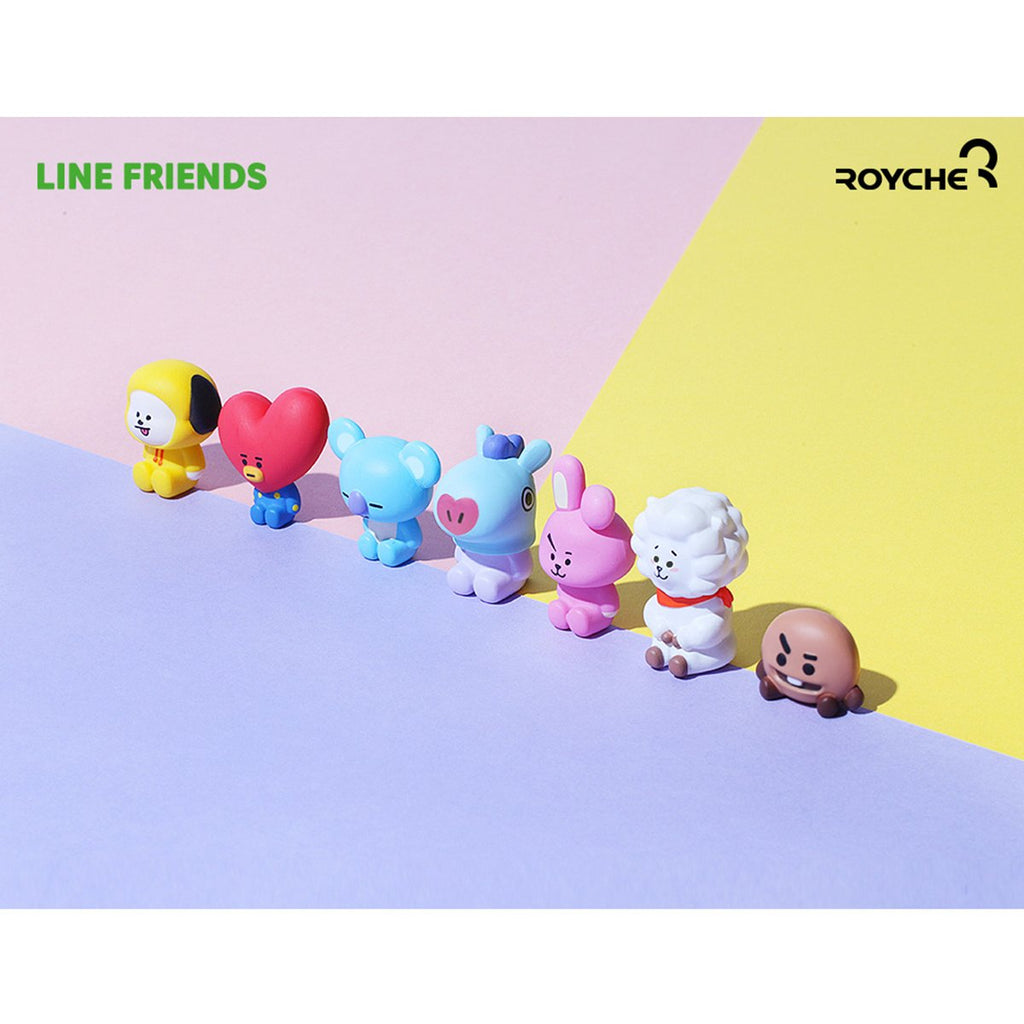 Royche x Line Friends BT21 Monitor Figure-CN-HALLYU MART