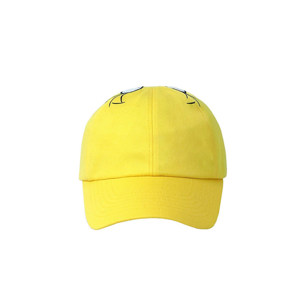 Stereo Vinyls x Looney Tunes 19S/S Unisex Face Hats Yellow-KR-HALLYU MART