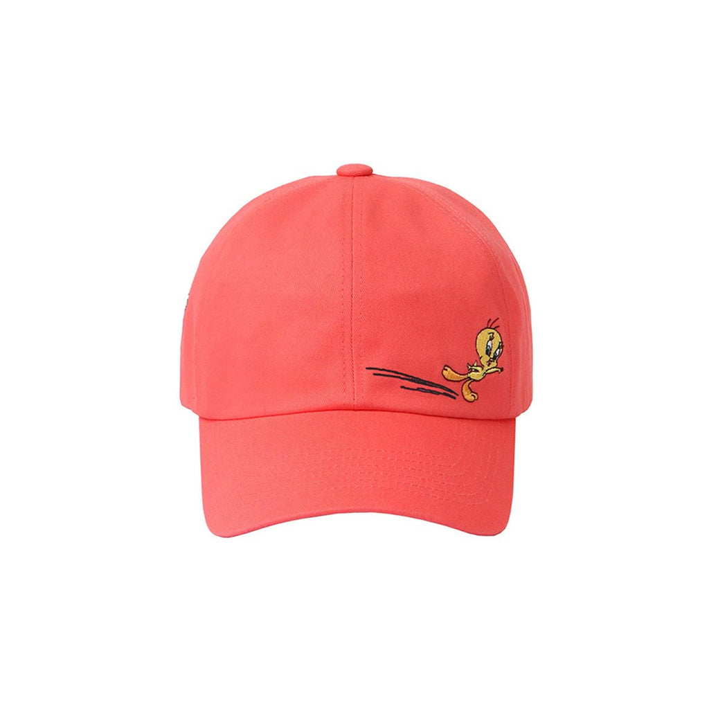 Stereo Vinyls x Looney Tunes 19S/S Unisex Run Hats Coral-KR-HALLYU MART